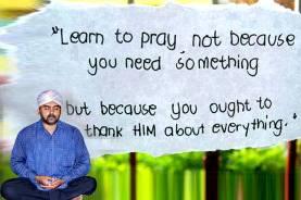 COMPULSORY PRAYER FOR ALL BY SRINIVAAS SUMAN